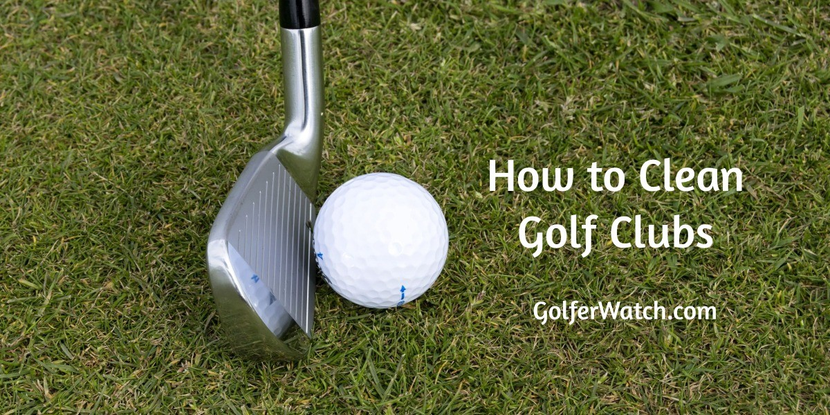 how to clean golf clubs