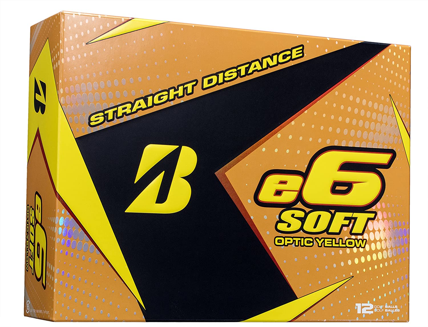 BRIDGESTONE Golf E6 Balls (in a pack of 12)