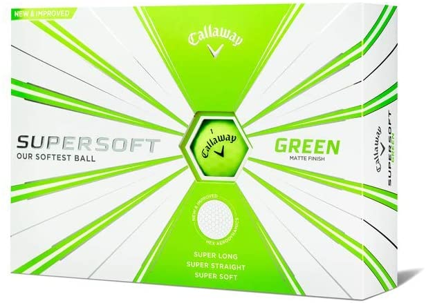 Callaway Golf Supersoft balls (a pack of 12)