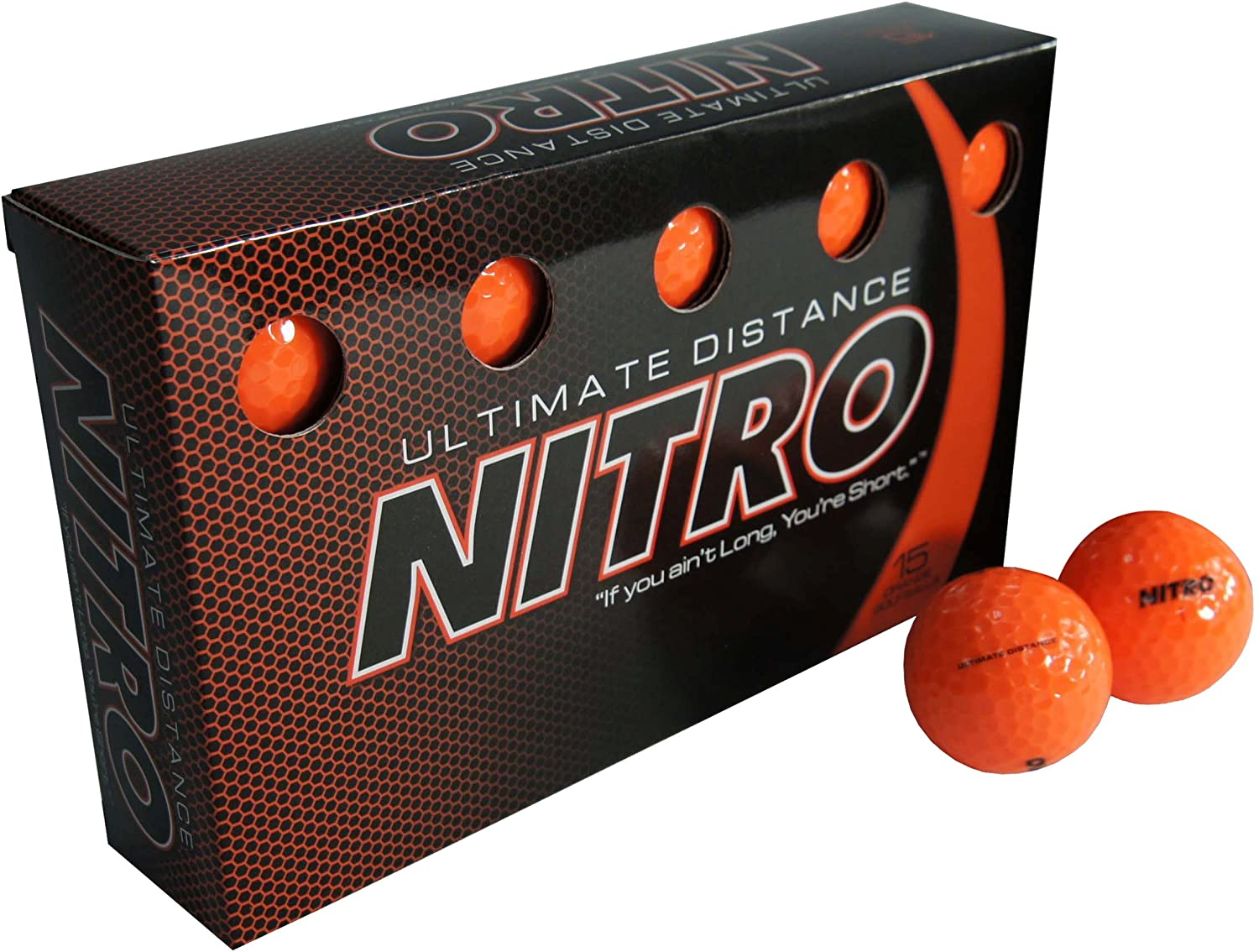 Nitro Ultimate Distance Golf Balls (in a pack of 15)