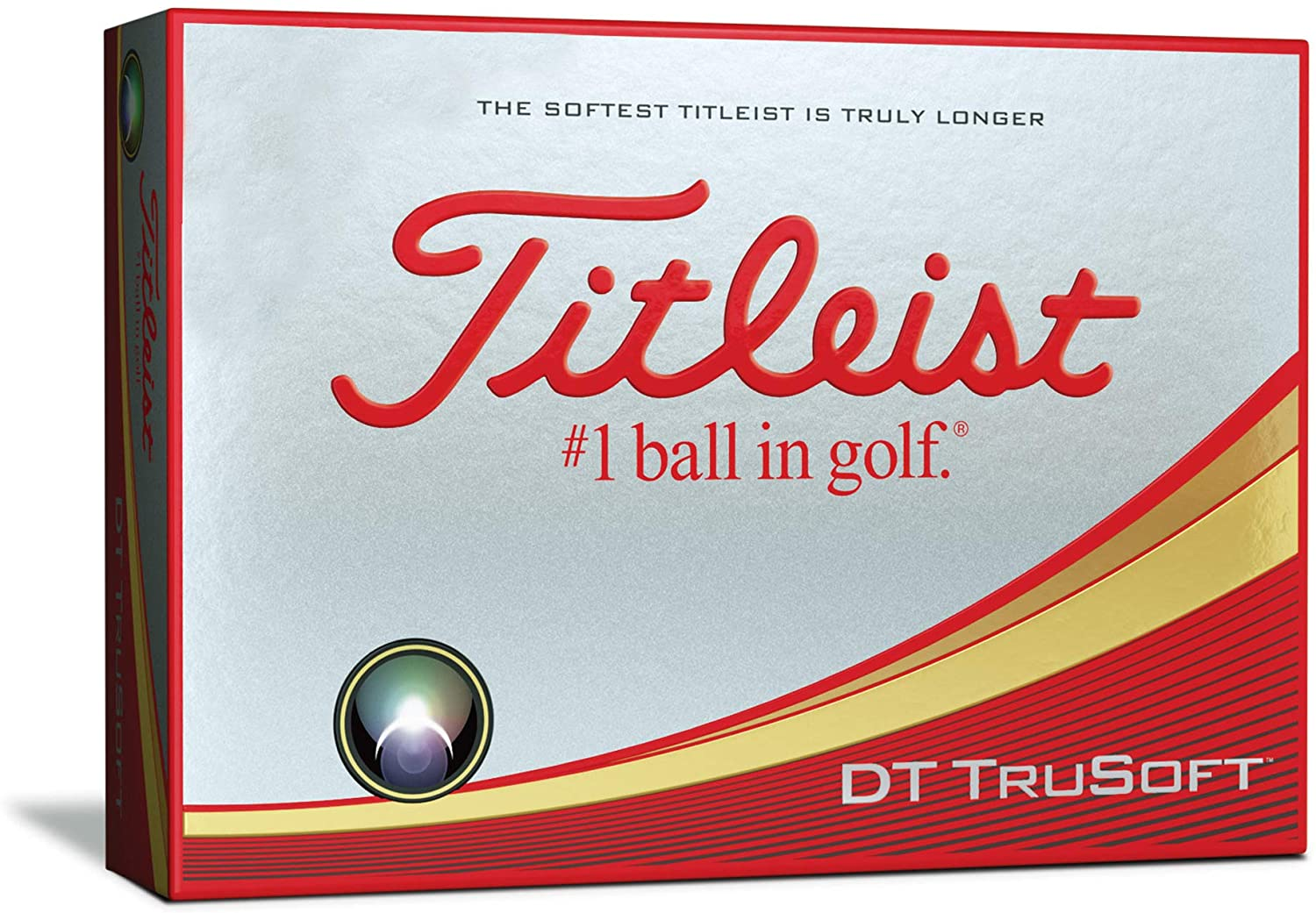 Titleist DT Trusoft Golf Balls (in a pack of 12)