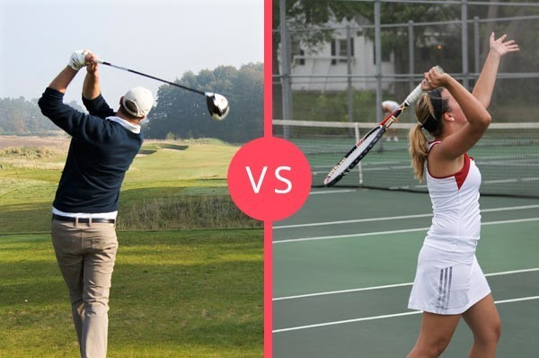 Golf vs tennis Popularity: Do More People Like Golf or Tennis…?