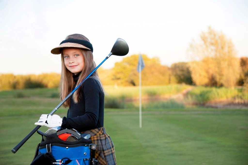 The benefits of golfing for kids